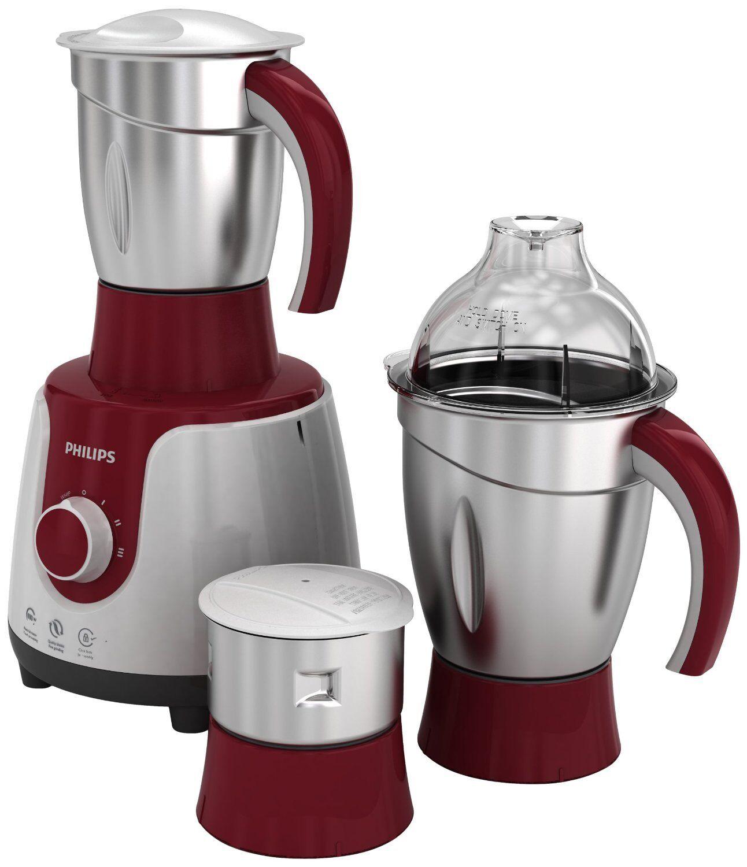Philips HL 7720 750-Watt 3-Jar Mixer Grinder@