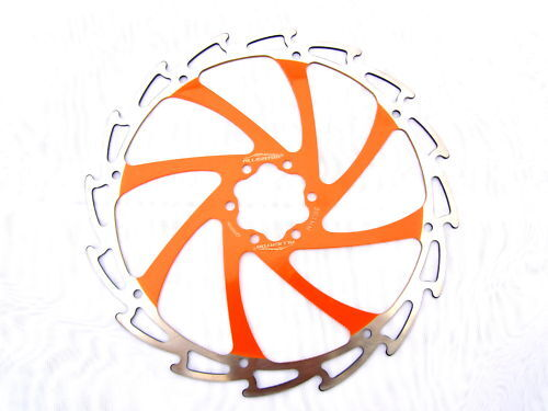 Alligator Windcutter ORANGE Disc Rotor 160mm c95g Santa Cruz Tallboy KTM match