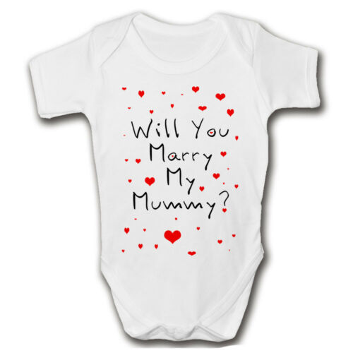 Will You Marry My Mummy Baby GrowProposal IdeaLovePop The Question