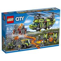 Lego City Volcano Heavy Lift Helicopter 60125 Set