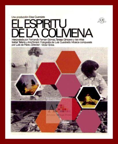 El Espiritu De La Colmena  World Cinema Greatest Movies Posters Vintage Film