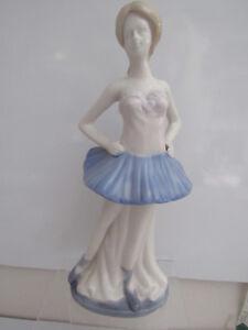 Details about Vintage Porcelain Ballerina Figurine