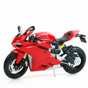 MAISTO-1-12-Ducati-1199-PANIGALE-MOTORCYCLE-BIKE-DIECAST-MODEL-TOY-NEW-IN-BOX