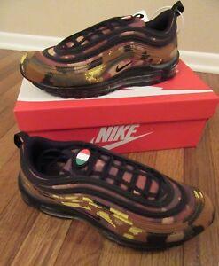 8a880ec9d79c Nike Air Max 97 Premium QS Size 11 Italy Country Camo Ale Brown ...