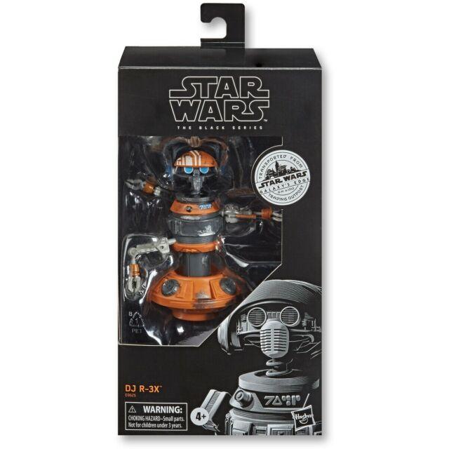 Star Wars: The Black Series DJ R-3X Galaxys Edge. 6 Inch Action Figure