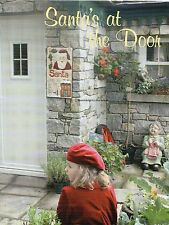 Santa's At The Door Quilt Pattern Pieced/Applique RM *****RARE*****