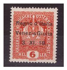 VENEZIA GIULIA 1918 - 6  HELLER   NUOVO   *