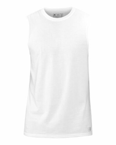 Russell Athletic S-3XL Men/'s Essential Blend Muscle Tee Sports T-Shirt