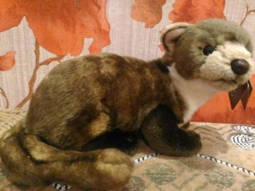 Pine Marten Plush Soft Toy By Living Nature 25cm An407 Ebay