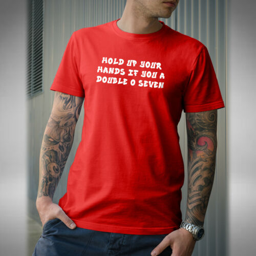 Hold Up Your Hand 007 Mens T-Shirt Old Jungle Drum Bass Stevie Hyper D Inspired