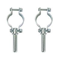 Clamp On Oar Locks, Zinc Plated Steel 582060-1