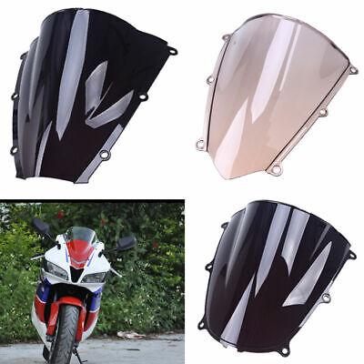 7 in Dark Gray Shield 96-13 Harley Windshield Touring