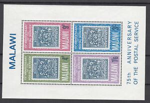 Malawi-Block-6-aus-1966-postfrisch-Postdienst