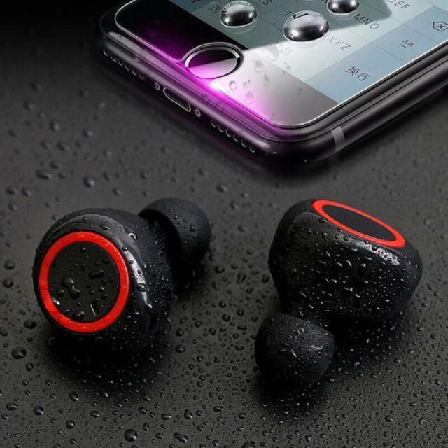 True Wireless Earbuds Bluetooth 5 0 Headphones Tws In Ear Earbuds With Mic For Sale Online Ebay