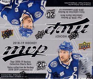 2018-19-Upper-Deck-MVP-Hockey-sealed-retail-box-36-packs-of-5-NHL-cards