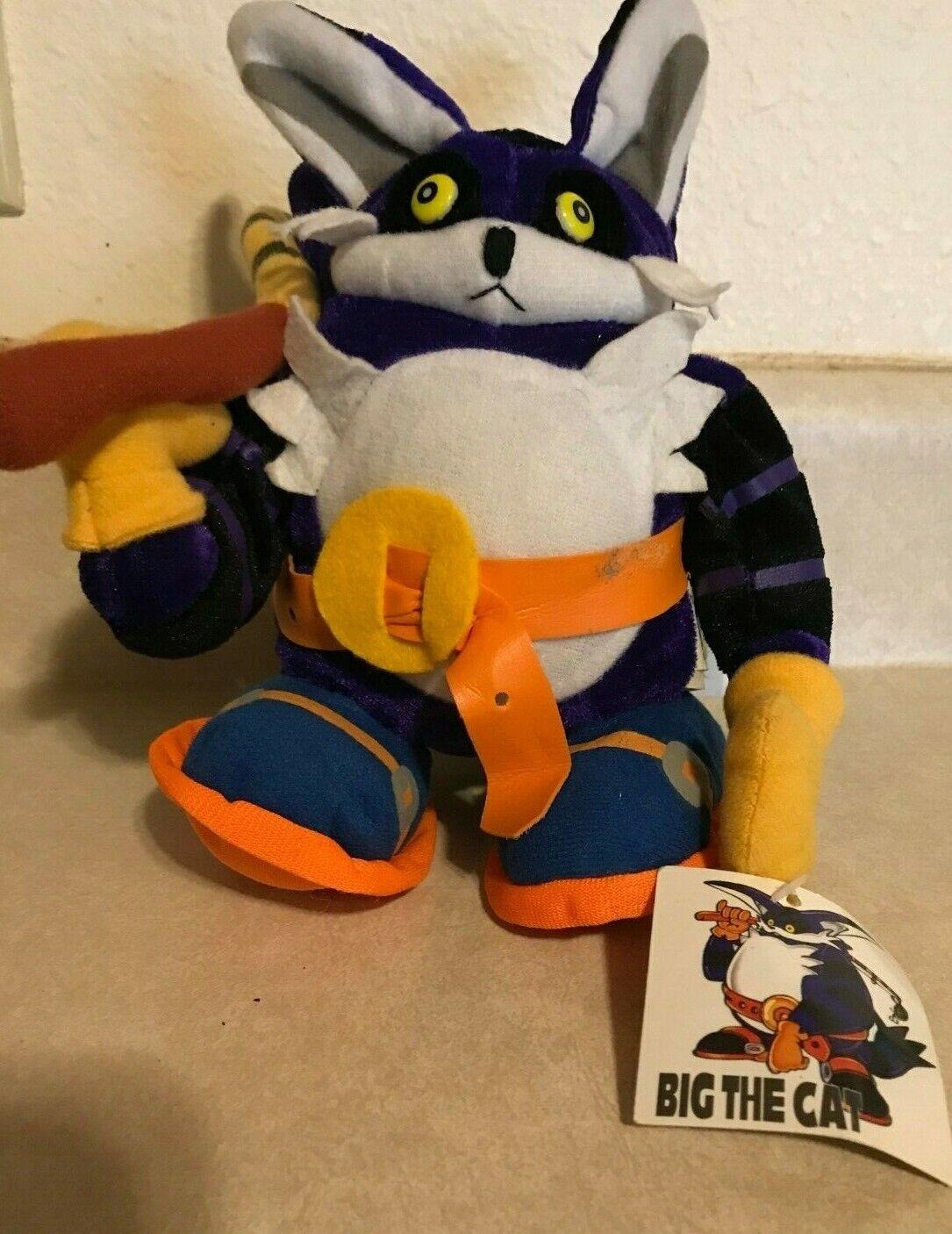 punto de venta en línea Sonic Peluche Grande El Gato Gato Gato Juguete Sega Animal de Peluche Raro con Network Etiqueta & en altura  aquí tiene la última