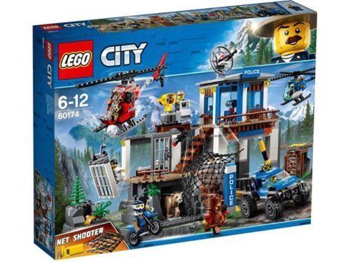 LEGO città   MOUNTAIN polizia HEADQUARTERS 663 PIECES    60174 BRe nuovo SEALED   gli ultimi modelli