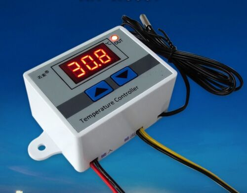 Digital LED Temperature Controller 10A Thermostat Control Switch Probe K9