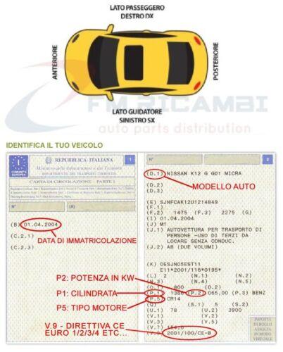 AMMORTIZZATORE PORTELLONE-COFANO POSTERIORE VW POLO VI DAL 2009 IN POI />