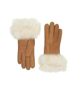 b06dc9e85c989 Image is loading NEW-WOMEN-SHEEPSKIN-3PT-TOSCANA-GLOVES-WATER-RESISTANT-