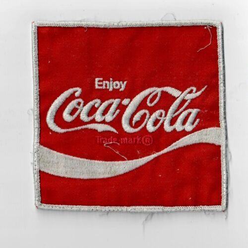 "Coca-Cola Medium Uniform Patch ~5/"" FREE SHIPPING"