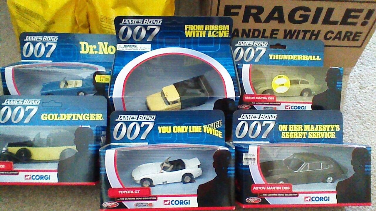 JAMES BOND ULTIMATE CAR COLLECTION FROM DR NO TO DIE ANOTHER DAY