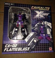Transformers Fansproject CA-02 Flameblast Causality Crossfire New Bruticus Limb