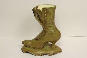 Victorian-Atlantic-Mold-Ladies-Victorian-Shoe-Boot-Tall-Flower-Vase-Planter