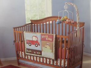 Image Is Loading 4 Pc Summer Going Places Baby Nursery Crib