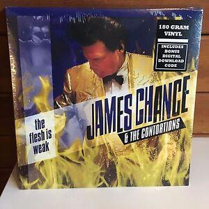 JAMES-CHANCE-CONTORTIONS-Flesh-Is-Weak-LP-2017-180-gram-SEALED-w-dwnload-NO-WAVE