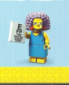 LEGO-MINIFIGURE-SIMPSON-serie-2-71009-PATTY-BOUVIER-new-in-opened-bag