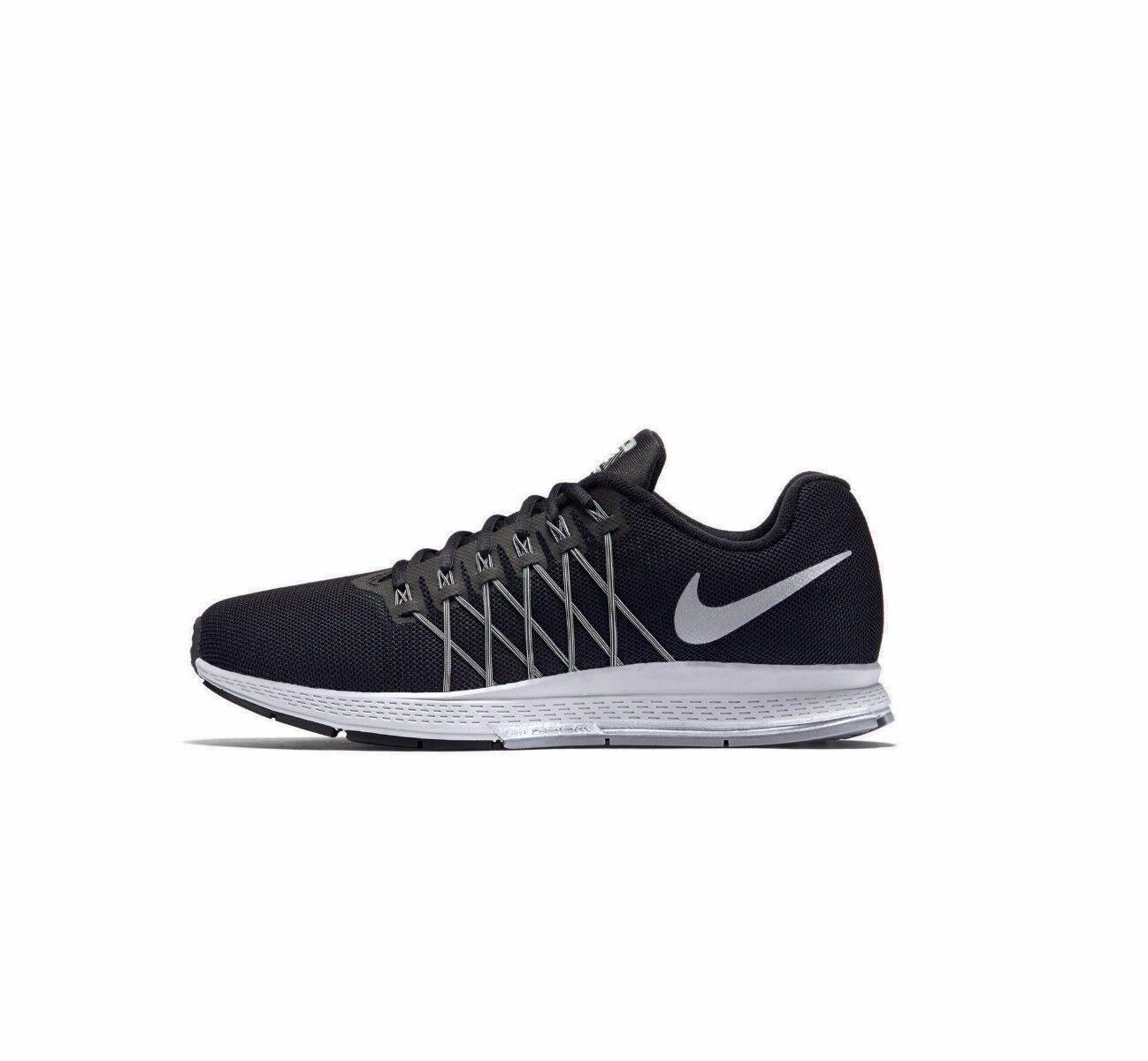 Nike air pegasus 32 uk numero 7 11, nero correre formatori scarpe