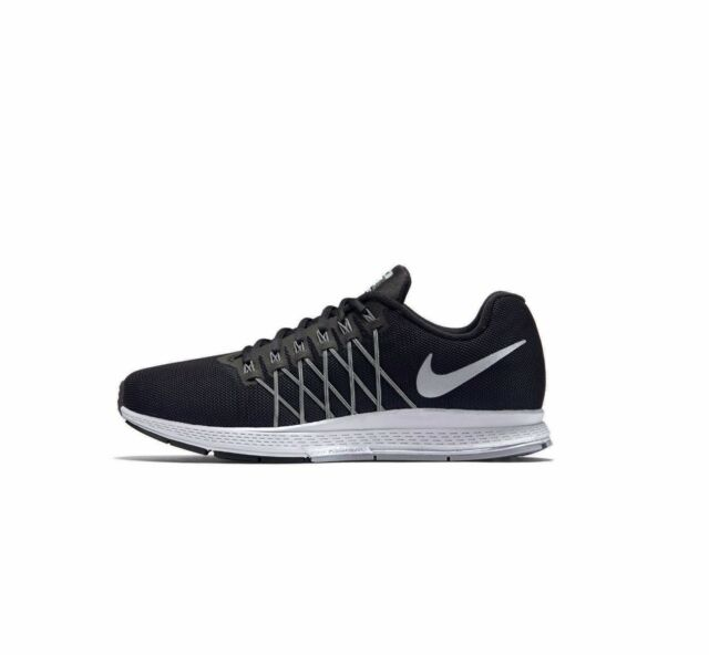 47813c121b67 Nike Men Air Zoom Pegasus 32 Flash Black Silver 806576-001 9 for ...