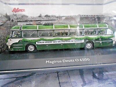Magirus Deutz O6500 /'Wunder Von Bern/' 1954 W//3 Figures 1:43 Model 8936 SCHUCO