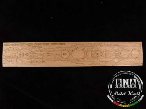 Artwox 1//350 IJN Carrier Battleship ISE Wooden Deck for Fujimi #i60002 AW10052