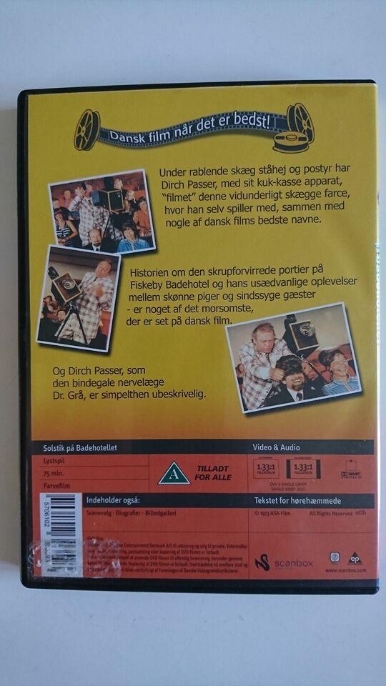 Solstik På Badehotellet, instruktør Klaus Pagh, DVD