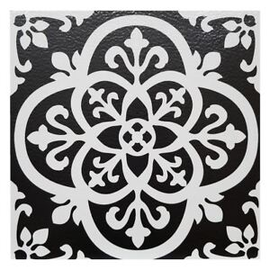 L Stick Vinyl Floor Tiles Black