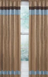 Image Is Loading Sweet Jojo Modern Soho Blue Brown Kid Window