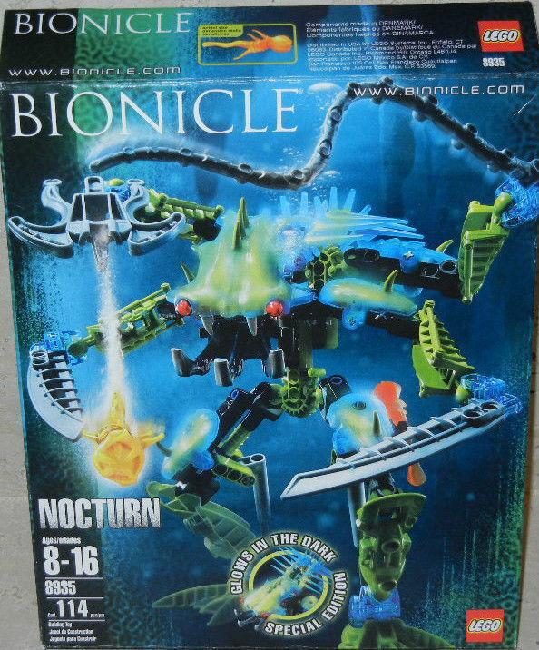 Lego Bionicle: 8 Nocturn Nuevo Sellado Raro