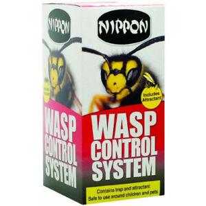 Nippon-Wasp-Control-System-Bait-amp-Trap-Effective-Catcher-Killer-Poison-Treatment