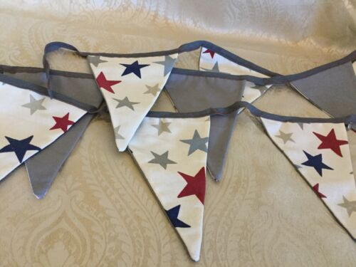 Hand made Quality Star Bunting
