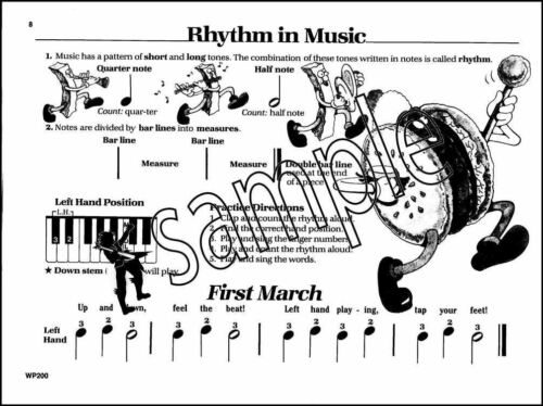 Bastien Piano Basics Piano Primer Level Music Book Sheet Learn To Play Method