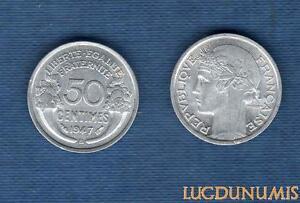 IV-Republique-1947-1959-50-Centimes-Morlon-1947-B-SUP