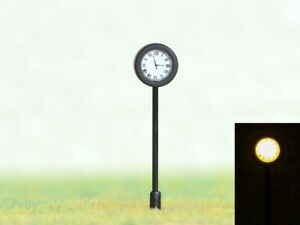 S790-H0-Bahnhofsuhr-antik-mit-LED-Beleuchtung-Hoehe-4cm-Uhr-fuer-Bahnhof
