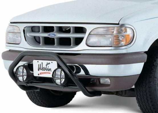 Westin 30-0005 Driving/ Fog Light Mounting Bar Black