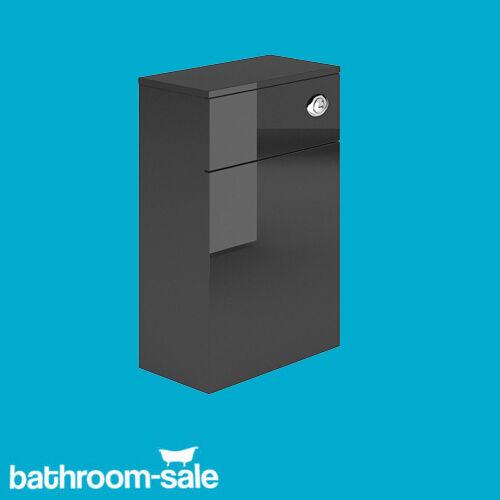 New Vermont Black Metallic 500mm x 200mm WC Unit Toilet SurroundRRP £219