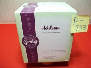"""BRAND NEW COLLECTIBLE AUTHENTIC SCENTSY WICKLESS WAX WARMER """"HEIRLOOM"""" RETIRED?"""