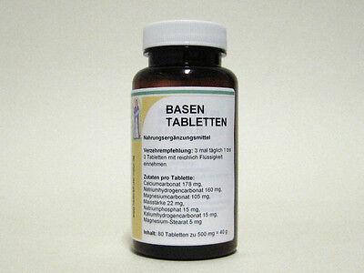 Basen Tabletten zur Entsäuerung  Apotheken Herstellung!