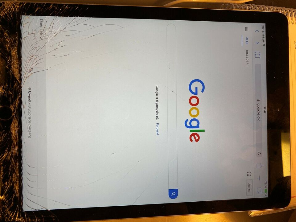 iPad Air 2, 16 GB, sort