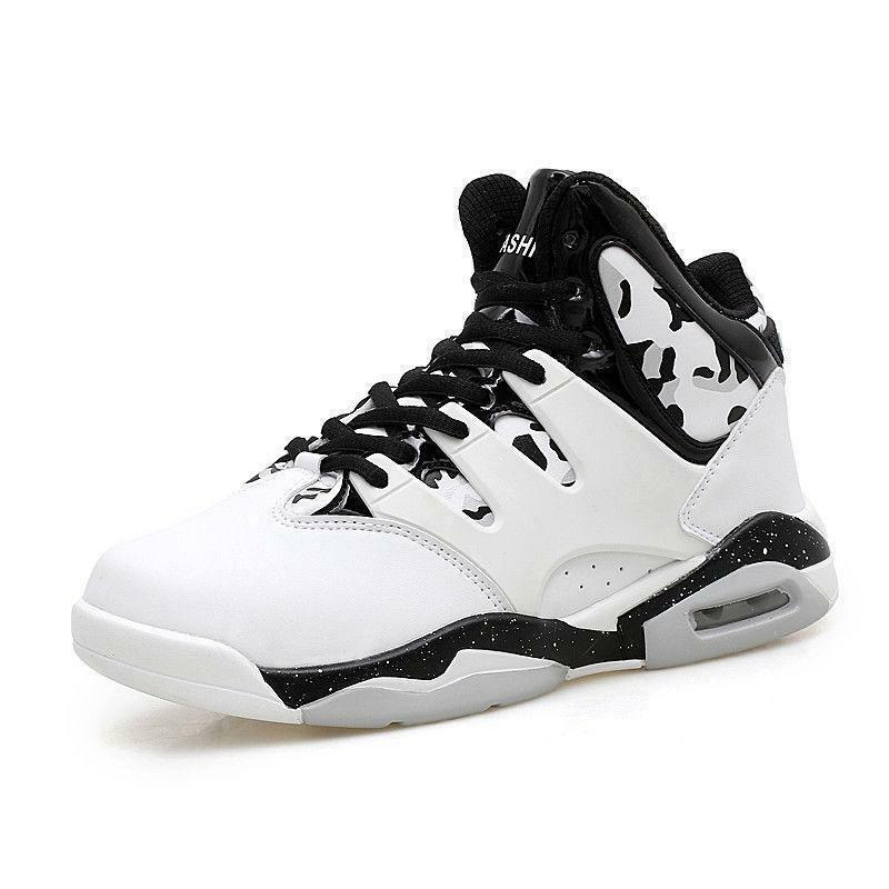 Fashion Outdoor Men's Basketball Sports shoes Performance Athletic Sneakers Size